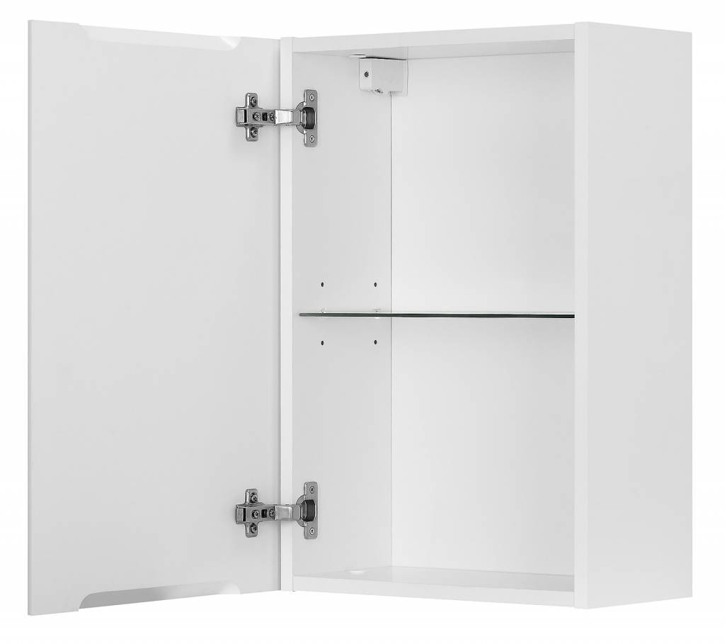 hioshop badkamer zijkast maja badkamerkast hoogglans zwart -, Badkamer