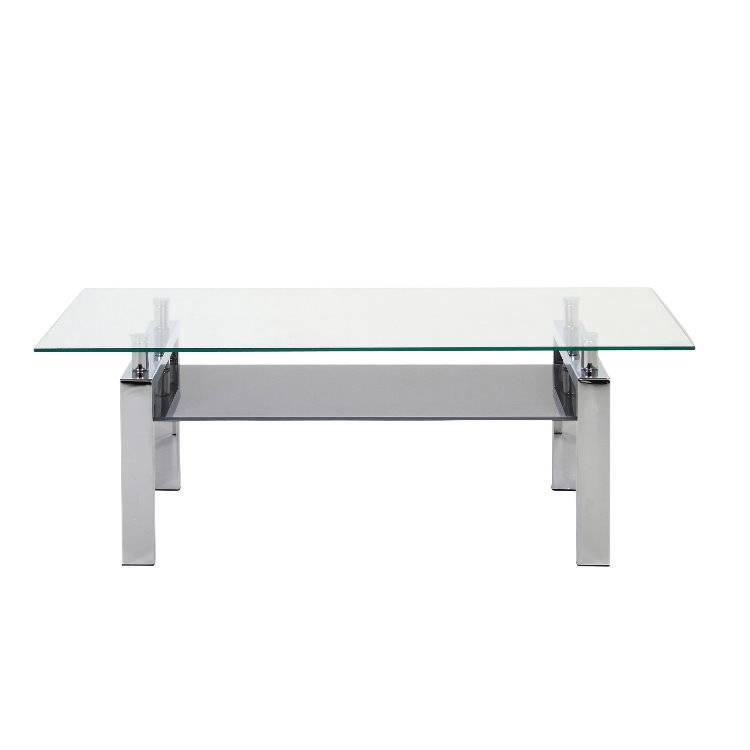 Calysto salontafel 120x60 helder glas