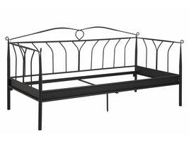 FYN Lantern bed ombouw metaal zwart voor boxspring 90x200