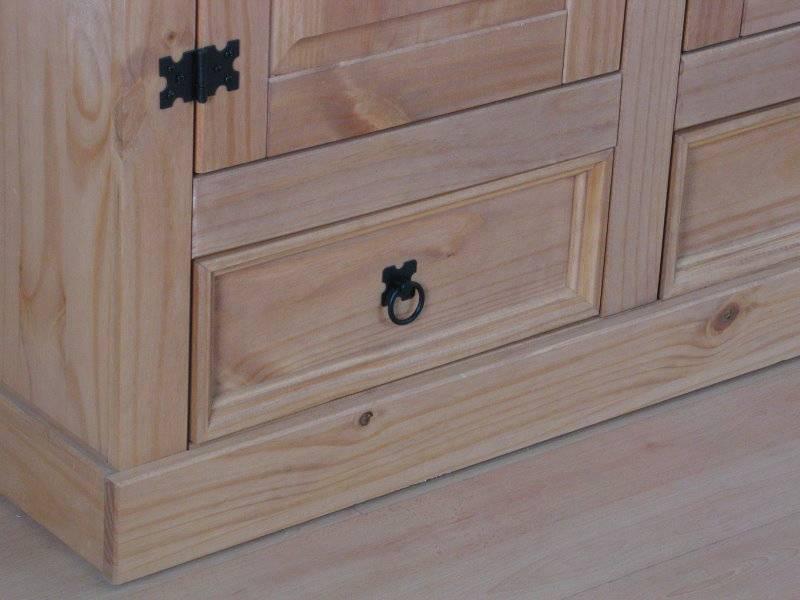 New mexico 3 deurs kledingkast met spiegel