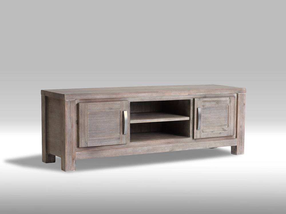 solliden alana tv meubel 120 cm breed acaciahout