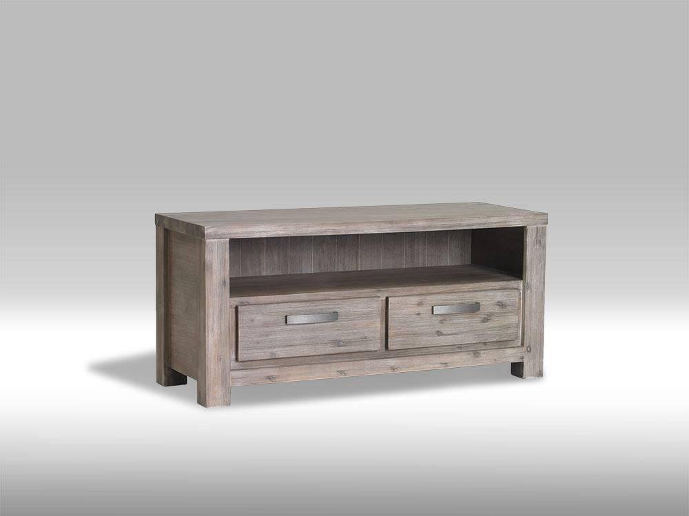solliden alana tv meubel 120 cm breed acaciahout. Black Bedroom Furniture Sets. Home Design Ideas