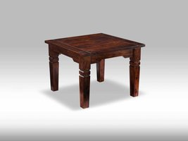 Solliden Ina bijzettafel sheesham hout 70x70 cm