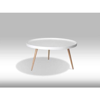 Witte Ronde Salontafeltjes.Osaka Witte Ronde Salontafel 90cm Of Ronde Salontafel Design