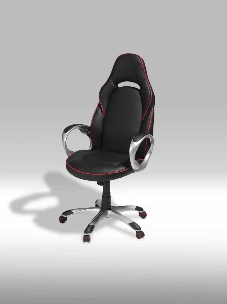 Still bureaustoel zwart online meubels goedkope meubels - Houtkleur zwart ...