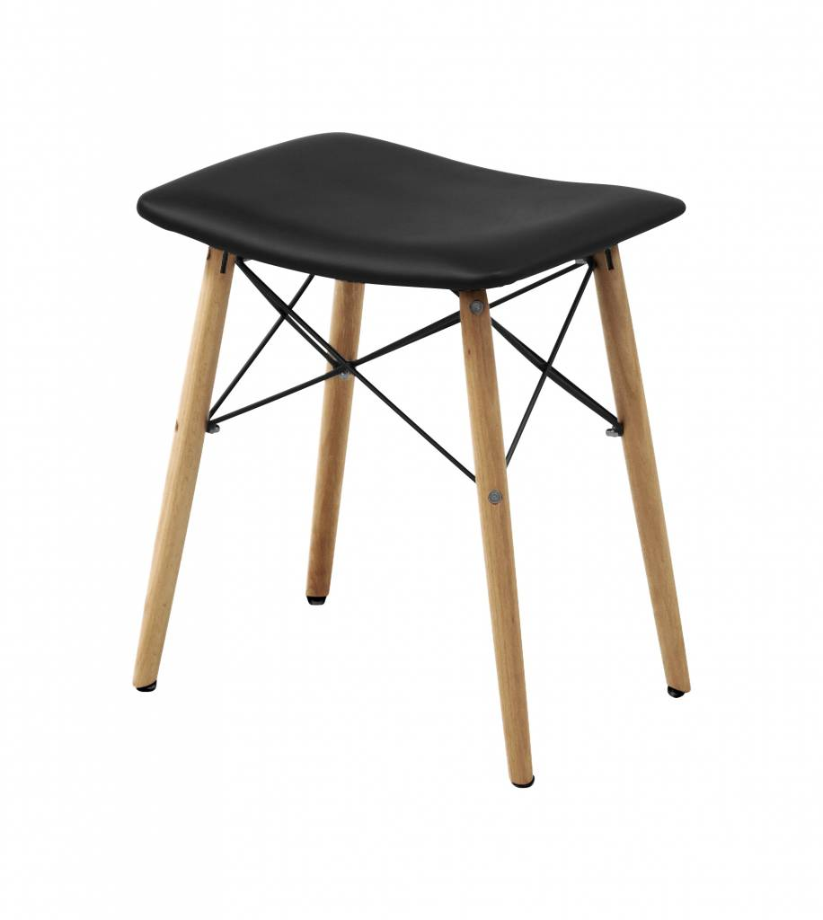 Sammo eetkamer kruk zwart   hioshop.nl   online meubels   goedkope ...