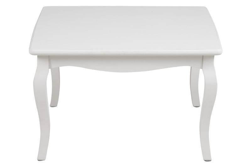Camy salontafel vierkant 70 cm antieklook wit