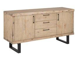 FYN Canny dressoir acacia bruin 160x84x45 cm