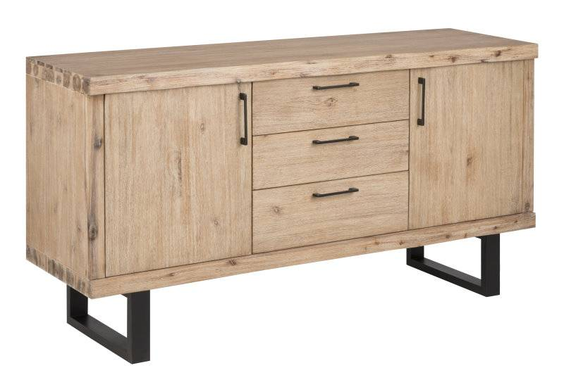Canny dressoir acacia bruin 160x84x45 cm