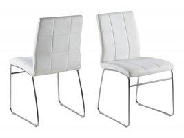 FYN Cube eetkamerstoel wit - set van 2 stoelen