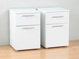 Tvilum Infiniti nachtkastjes wit - set van 2