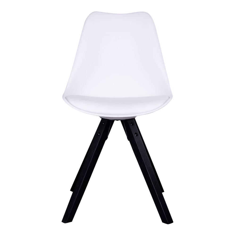 Witte stoel houten poten gallery of witte stoel houten for Witte keukenstoelen