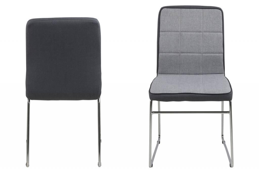 FYN Joeri - Eetkamerstoel - Lichtgrijs - set van 4 stoelen