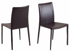 FYN Andreas eetkamerstoel bruin - set van 2 stoelen