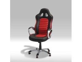 Solliden Still bureaustoel zwart en rood