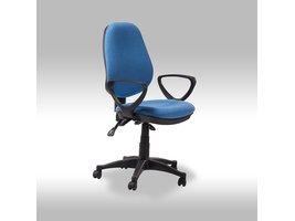 Solliden Mosa bureaustoel blauw