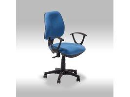 Solliden Ravna bureaustoel blauw