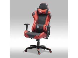 Solliden Wild bureaustoel gamestoel zwart-rood