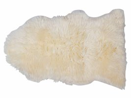 Maui lamsvel 70x110 cm wit uit Nieuw Zeeland