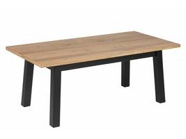 FYN Chilli salontafel in eikenkleur en zwart