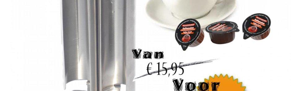 Stainless steel coffee cream dispenser