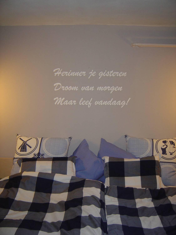 Ideeen voor slaapkamer muur: slaapkamer idee?n die je thuis kan ...