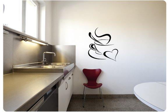 Muurstickers Keuken Koffie : Muurtekst Kopje koffie – Muurstickers en muurteksten van Sweeties.nl