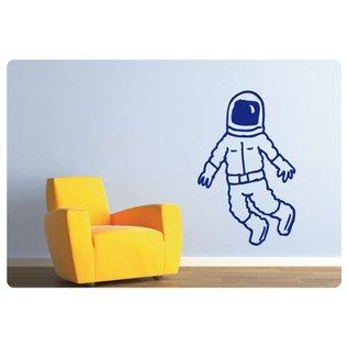 Muurteksten.nl Muursticker Astronaut