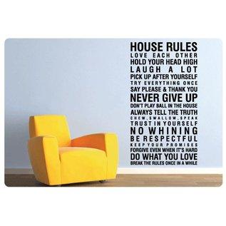 Muurteksten.nl Muurtekst House rules