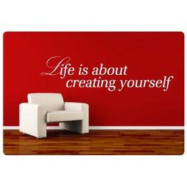 Muurteksten.nl Muurtekst Creating Yourself