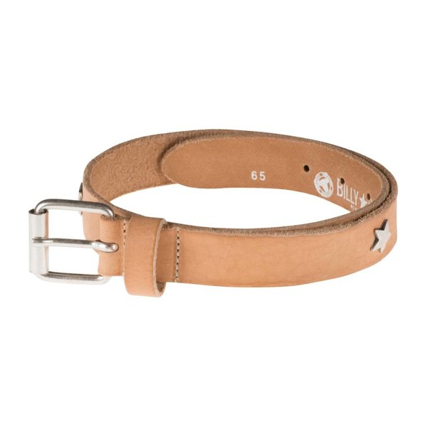 Billy Belt riem met studs - naturel