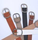 Bruine dames jeansriem 4,5 cm