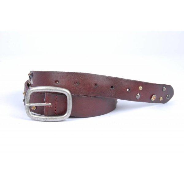 Bruine/Rode Joss riem