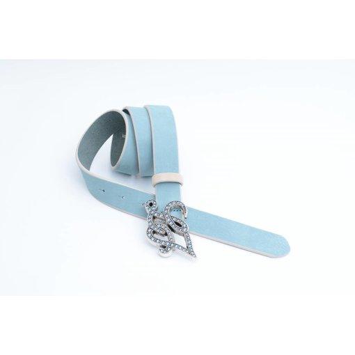 LIU-JO Turquoise/licht Blauwe Lui-Jo Damesriem