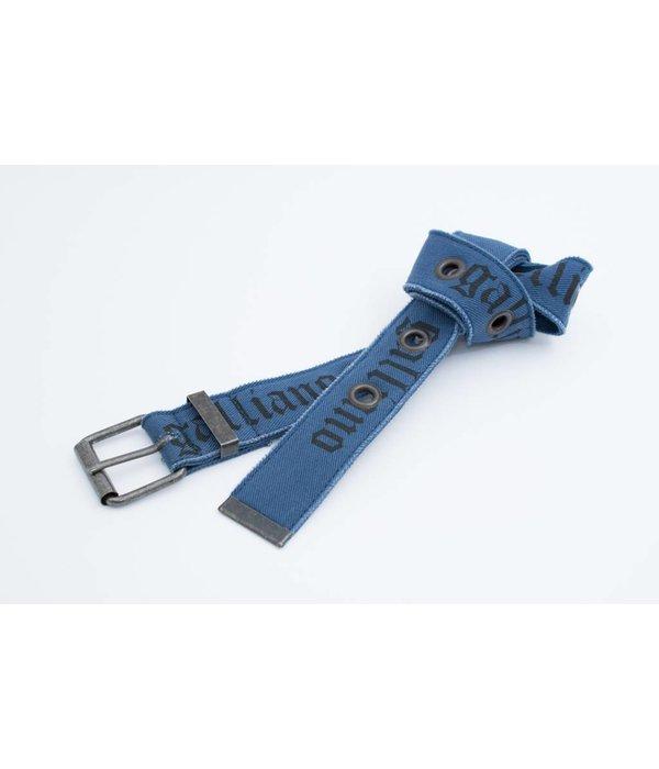 Galliano Stoere blauwe riem