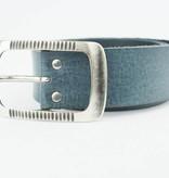 Deero Charmante Jeansblauwe riem (Fairtrade)