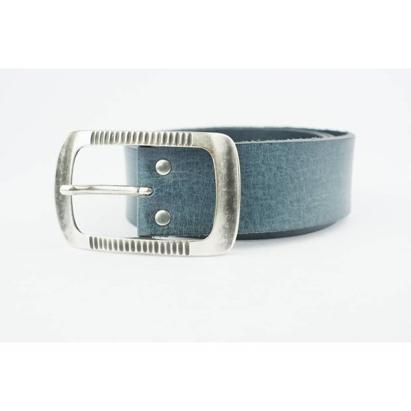 Charmante Jeansblauwe riem (Fairtrade)