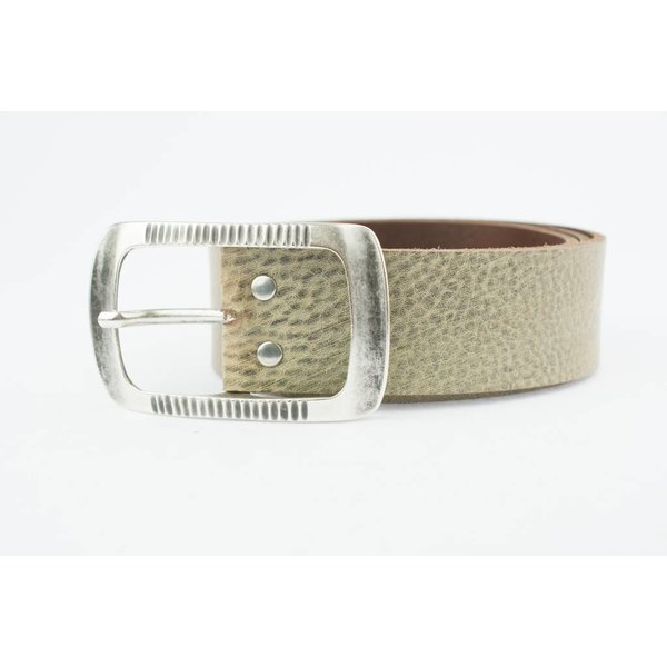 Charmante Capuccino/Camel riem (Fairtrade)