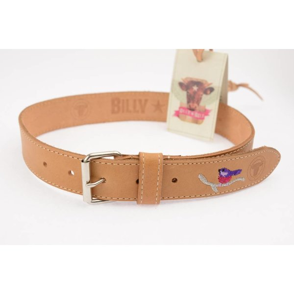 Billy Belt Meisjes riem bird naturel