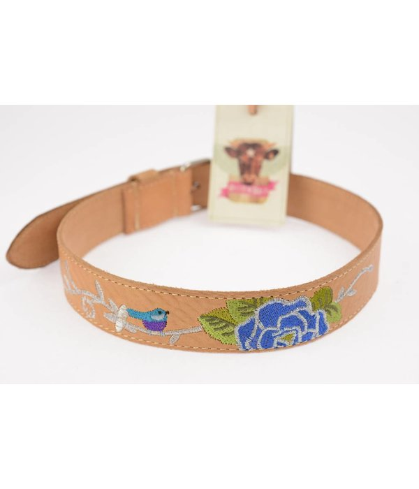Billy Belt Billy Belt Meisjes riem bird naturel