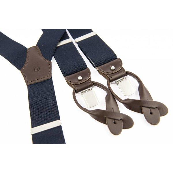 Luxe Donkerblauwe Bretels