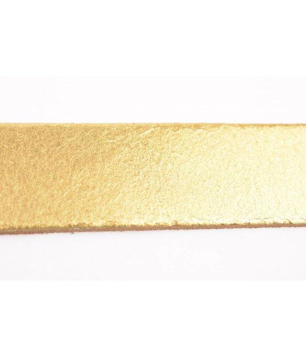 Take-It Stoere elegante glimmend gouden damesriem