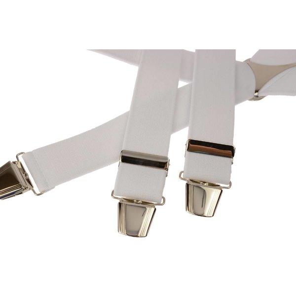 Witte uni bretel