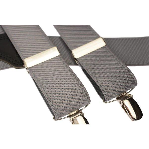 Fraaie grijze bretel