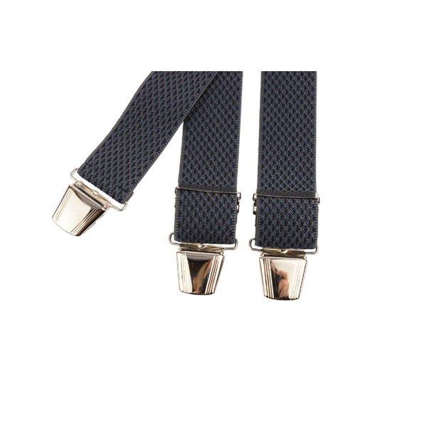Grijs gemeleerde bretels
