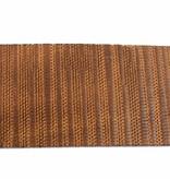 Alberto riemen Luxe herenriem met unieke structuur in cognac kleur