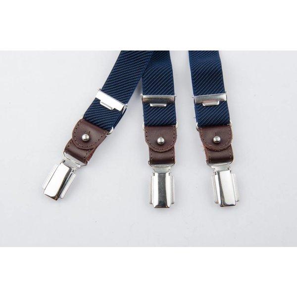Luxe Blauwe smalle Bretels
