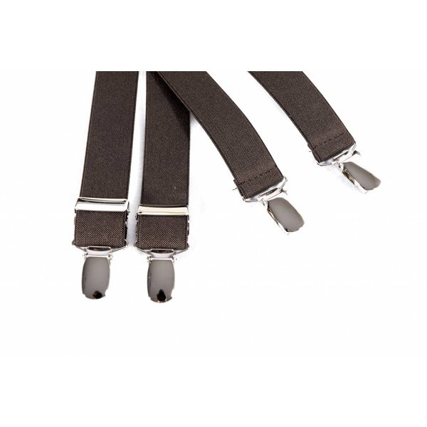 Smalle bruine bretels