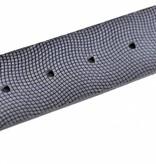 Alberto riemen Mooie donkerblauwe riem met uniek dessin