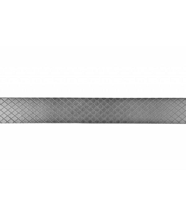 Alberto riemen Mooie duo-tone grijs - melange riem met ruit dessin